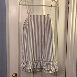 Urban Outfitters striped mini dress